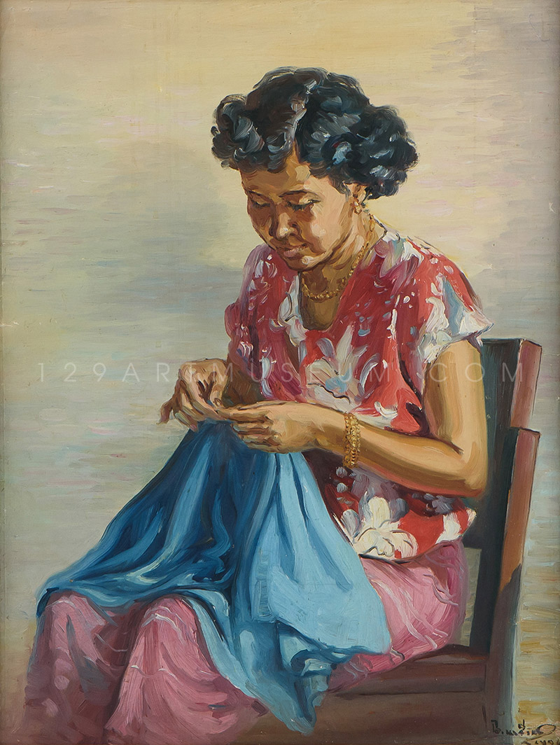 Sewing - 1954