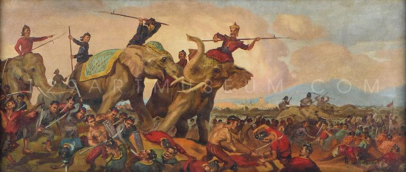 Elephant Duel