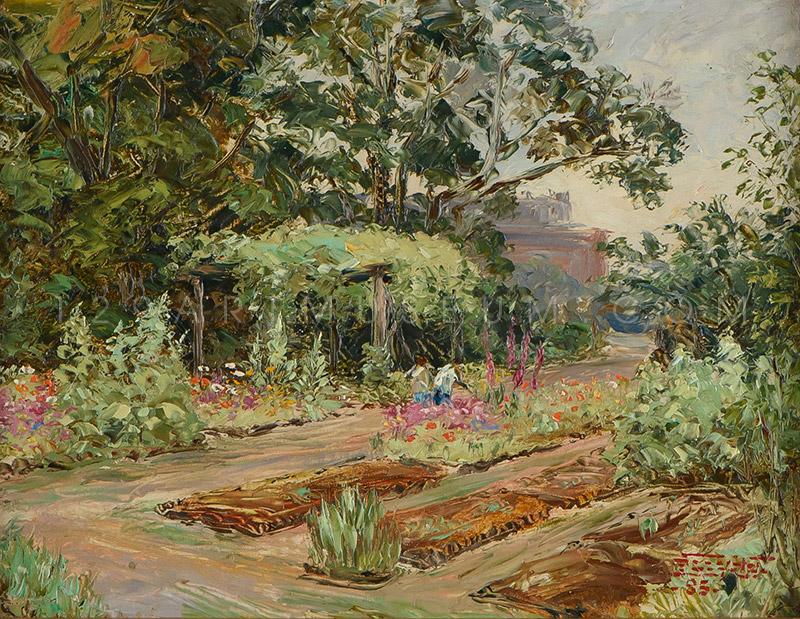 Tokyo Fine Arts Academy Garden - 1942