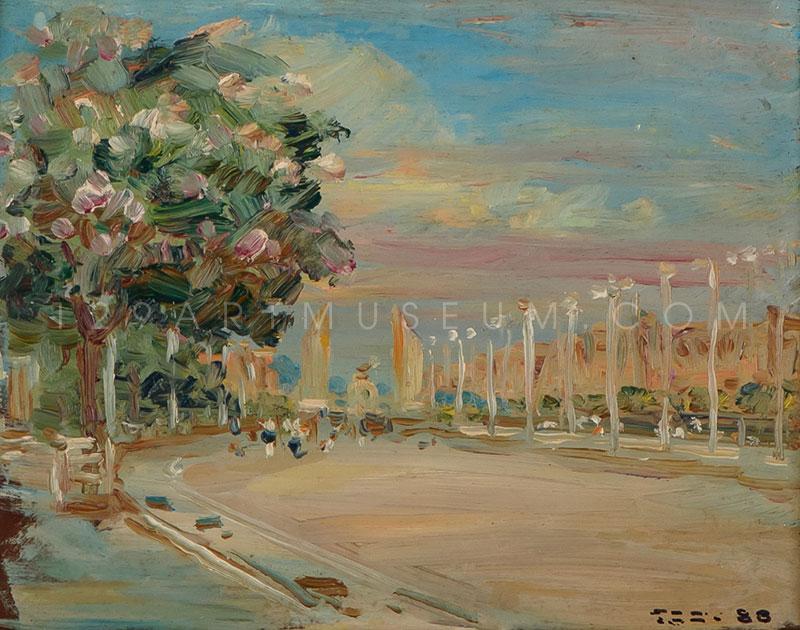 Rajdamnern Avenue - 1945