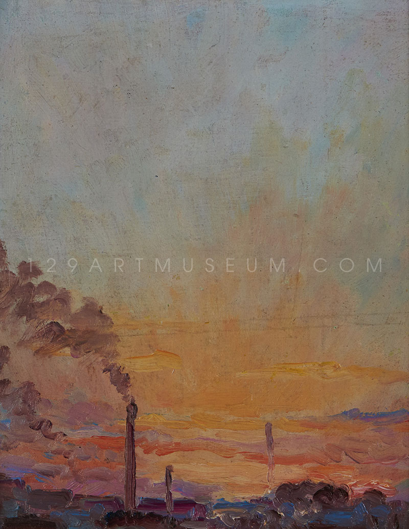 Spring Sunset - 1943