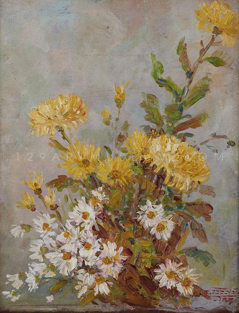 Flower Painting I - 1944