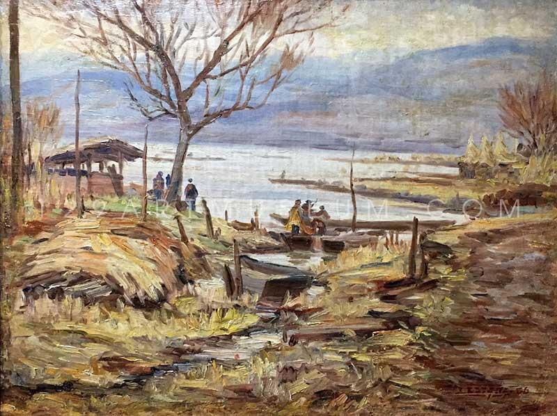 By Lake Suwako - 1943