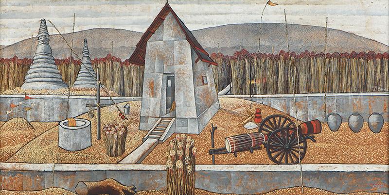Farm Landscape - 1961