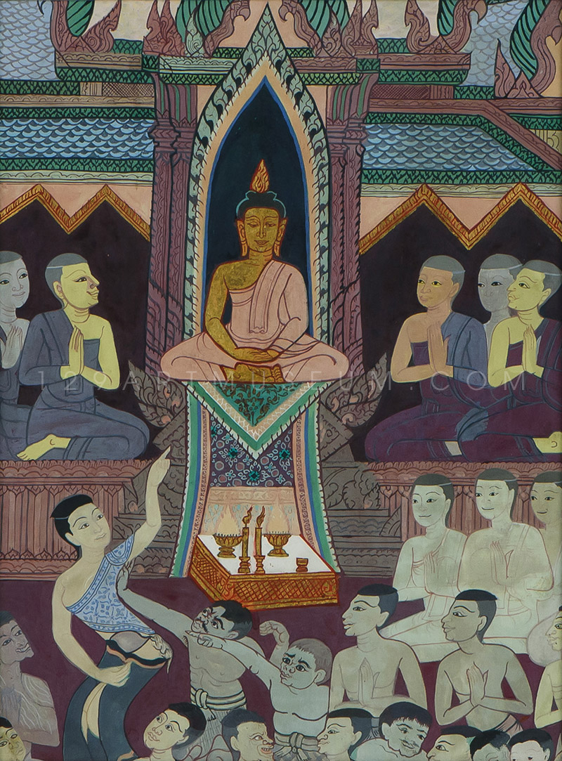 Reproduction from The Life Story of The Lord Buddha - 1963