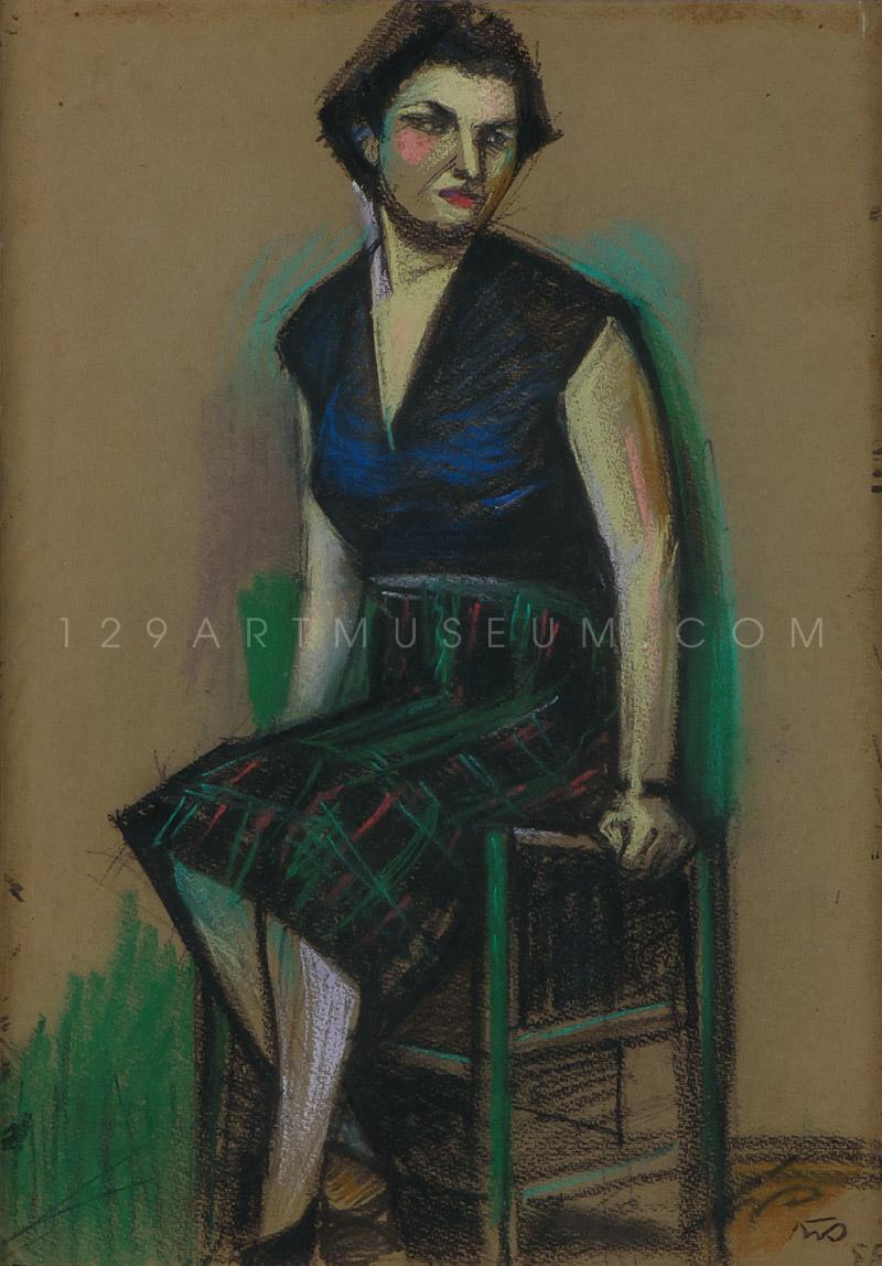 A Lady - 1955