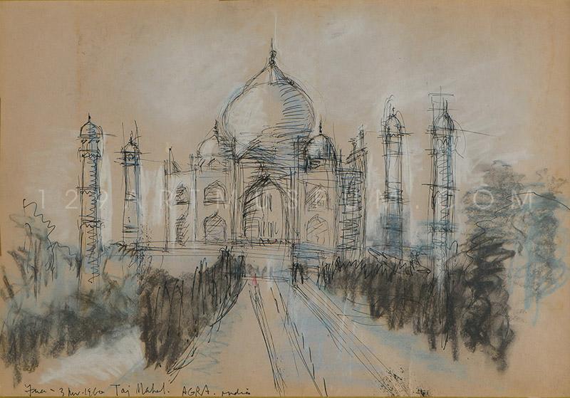 Taj Mahal, Agra - 1960