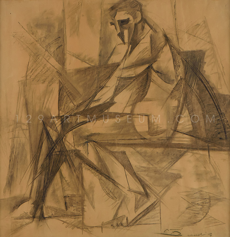 Nude-Painter - 1956
