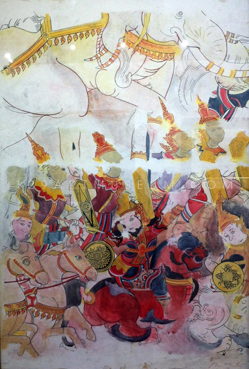 Mural Painting - 1965