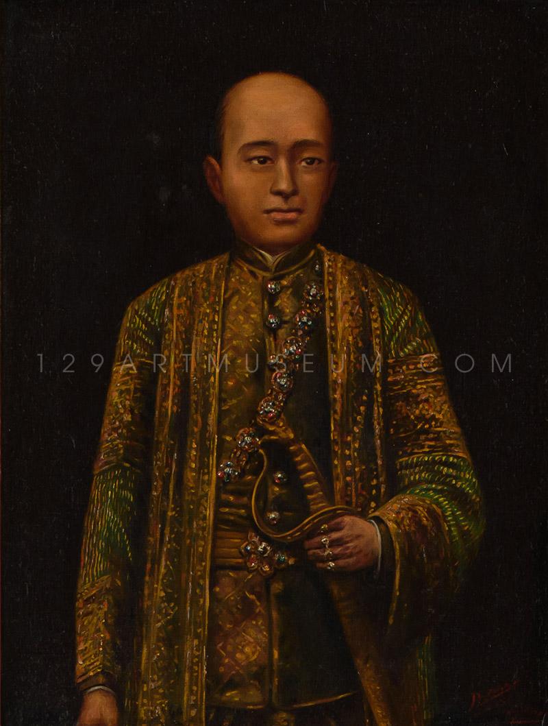King Rama II - 1917