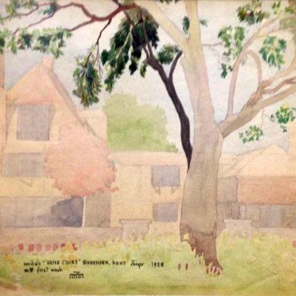 พระที่นั่ง Vane Court, Biddenden, Kent, UK - 1938