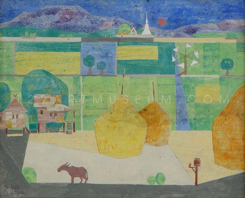 Farming Scene - 1973