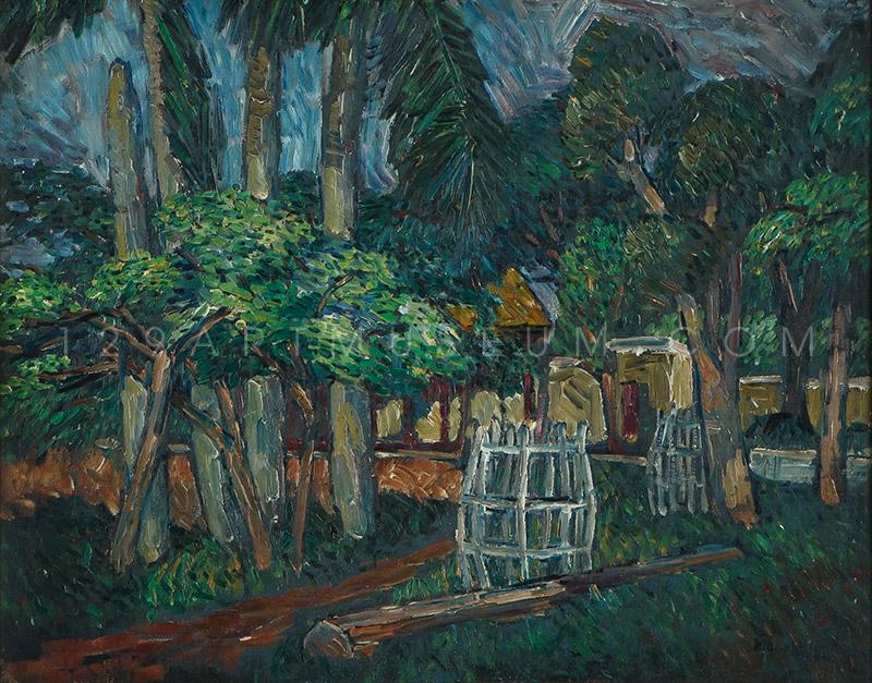 Dusit Garden - 1955