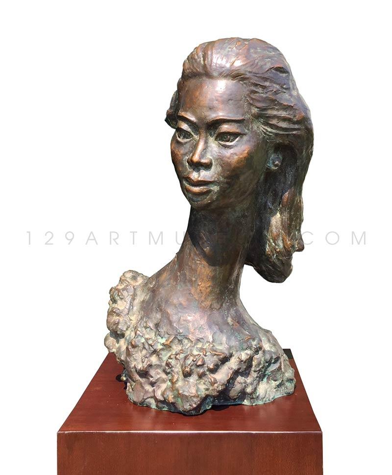 Head of a dancer หญิงคอระหง 6/9 - 1950'S-1960'S