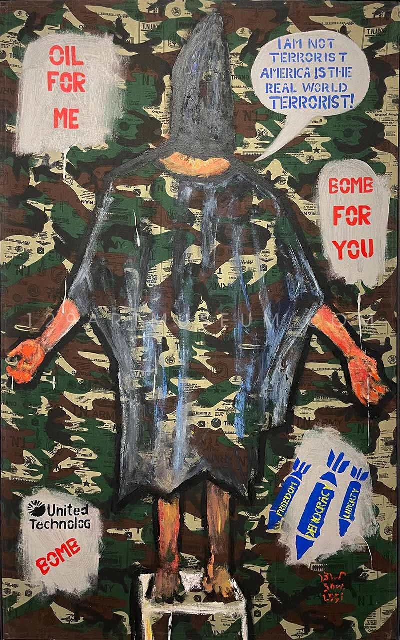 OIL FOR ME, BOMB FOR YOU! - 2008