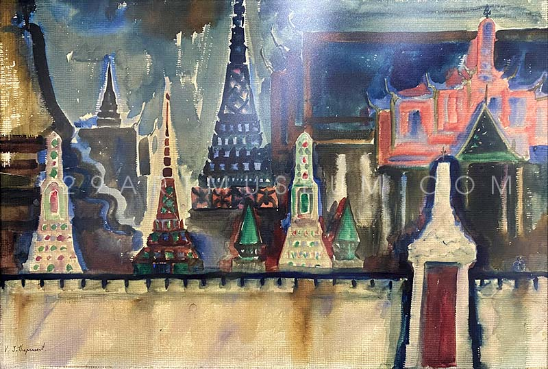 Emerald Buddha Temple - 1970'S